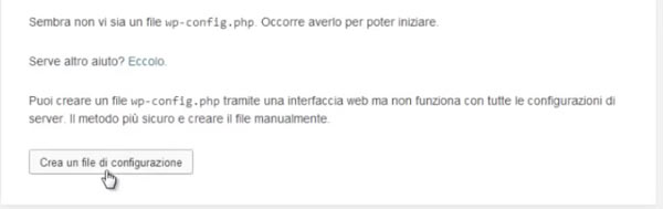 Primo sito in wordpress