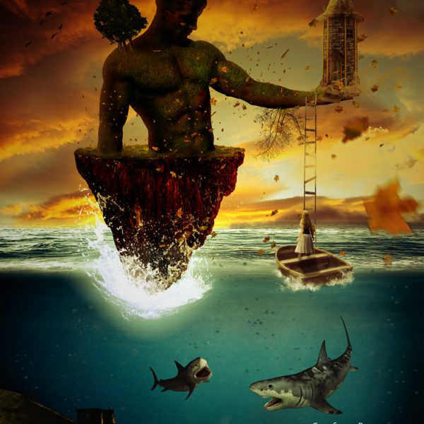 isola del gigante manipulation artwork aforismi graficoweb Francesco Bruno alias laciodrum